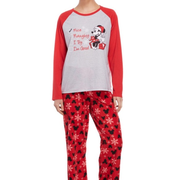 2e9a44d9cb Disney Minnie Mouse Pajama Set L